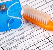 Toothbrush floss and dental insurance forms